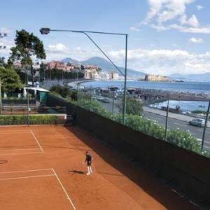 I campi in terra rossa del Tennis Club di viale Dohrn