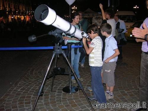 Nola, telescopi in piazza per il Certame Bruniano