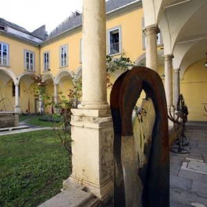 Il Chiostro del Museo Provinciale di Capua
