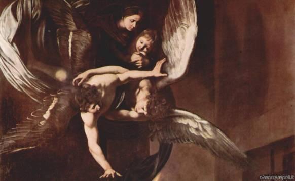 dettaglio Sette Opere di Misericordia di Caravaggio