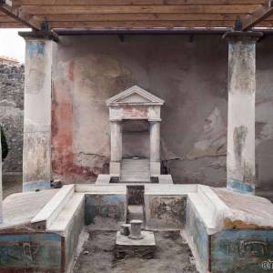 Pompei, domus dell'Efebo giardino