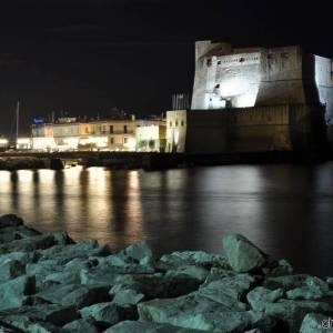 notturna castell dell'ovo