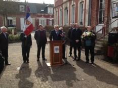 12 mars 2017 - Commémoration du centenaire de la déportation de la population de CHARMES