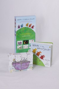 Mem Fox green sheep kids Christmas books
