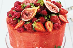 Naked Cakes by Lyndel Miller Watermelon Cake