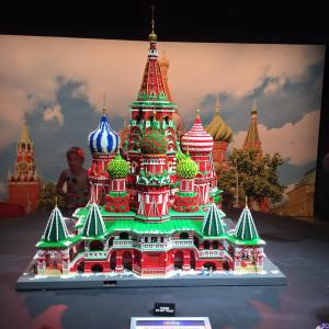 Lego Model of St Basil The Blessed Cathedral Brickman