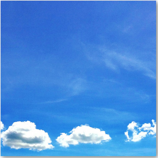 blauer Himmel - © Liisa
