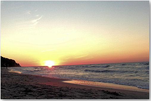 Sonnenuntergang Ostsee - © Liisa