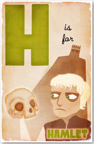 H is for Hamlet - © D. P. Sullivan