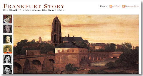 Screenshot Frankfurt Story