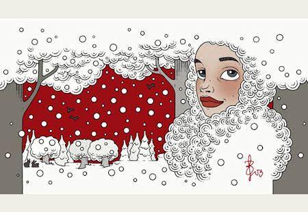 Postkartenmotiv Winterzeit - © Iris Luckhaus