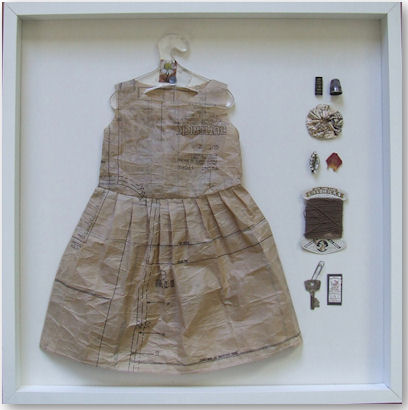 Pattern Paper Dress - © Jennifer Collier