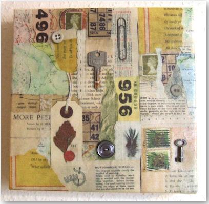 Square canvasses - © Jennifer Collier