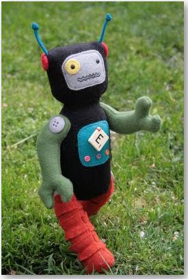 handgemachte Roboter - © Jodie