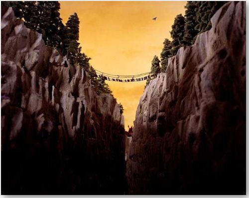 Durbin Pass aus der Serie Lost - © Lori Nix