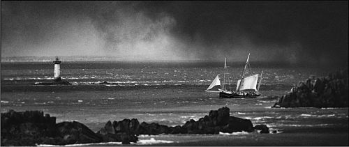 Bisquine - Pointe du Groin-Cancale - France, 2005 - © Philippe Marchand