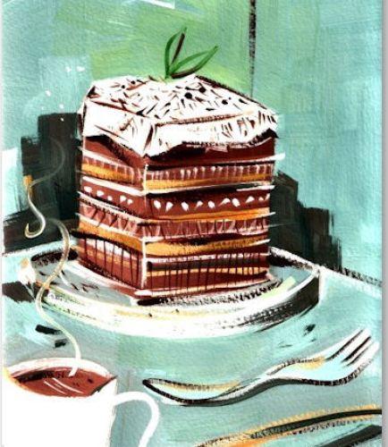 Caramel Fudge Tiramisu - © Riki Takaoka