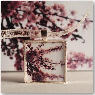 Cherry Blossom Winter-Schmuckanhänger- © Ryan McAbery
