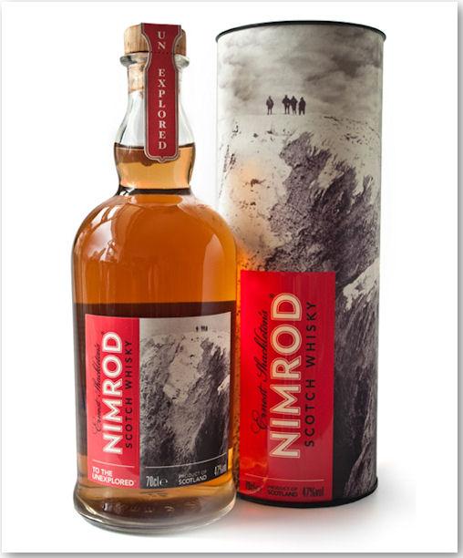 Nimrod Scotch Whisky - Produktdesign von Zef Narkiewicz