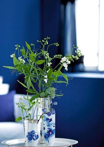 Vasen blauweiß - © Bo Bedre