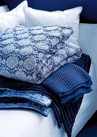 Decken blauweiß - © Bo Bedre