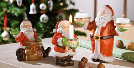 Weihnachtsmannserie von Hutschenreuther