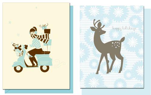 Hello Lucky Weihnachtskarten
