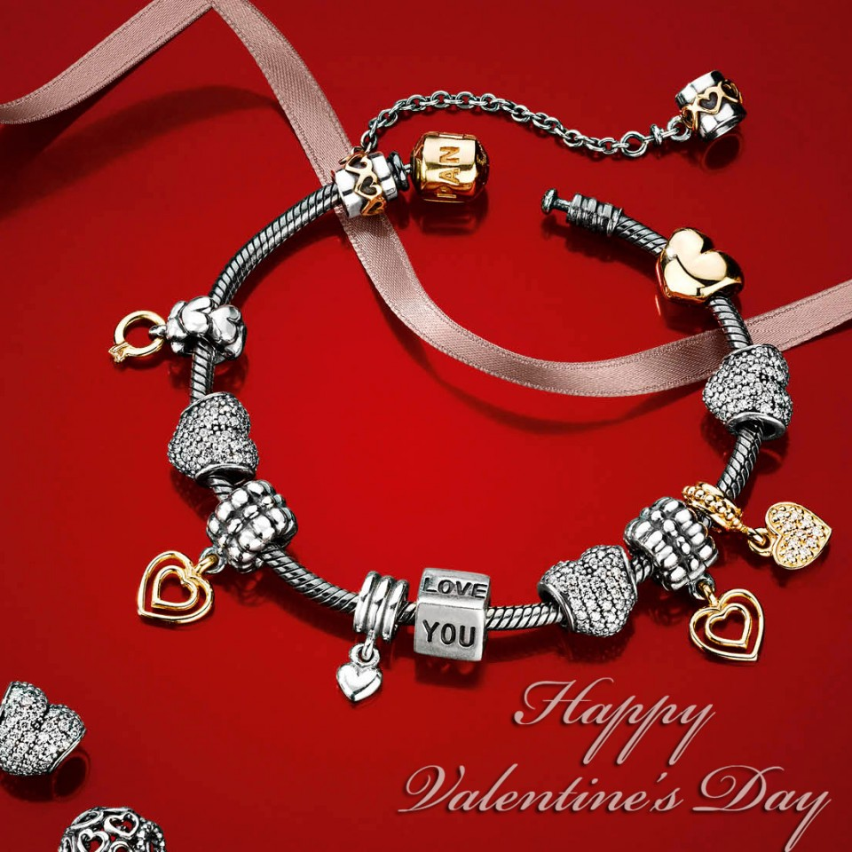 Happy Valentines Day Charms Addict