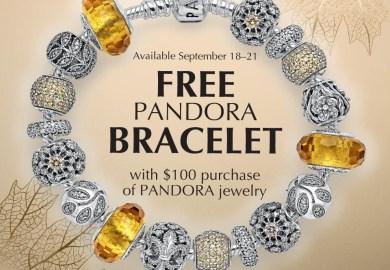 Pandora Bracelet Promotion 2015