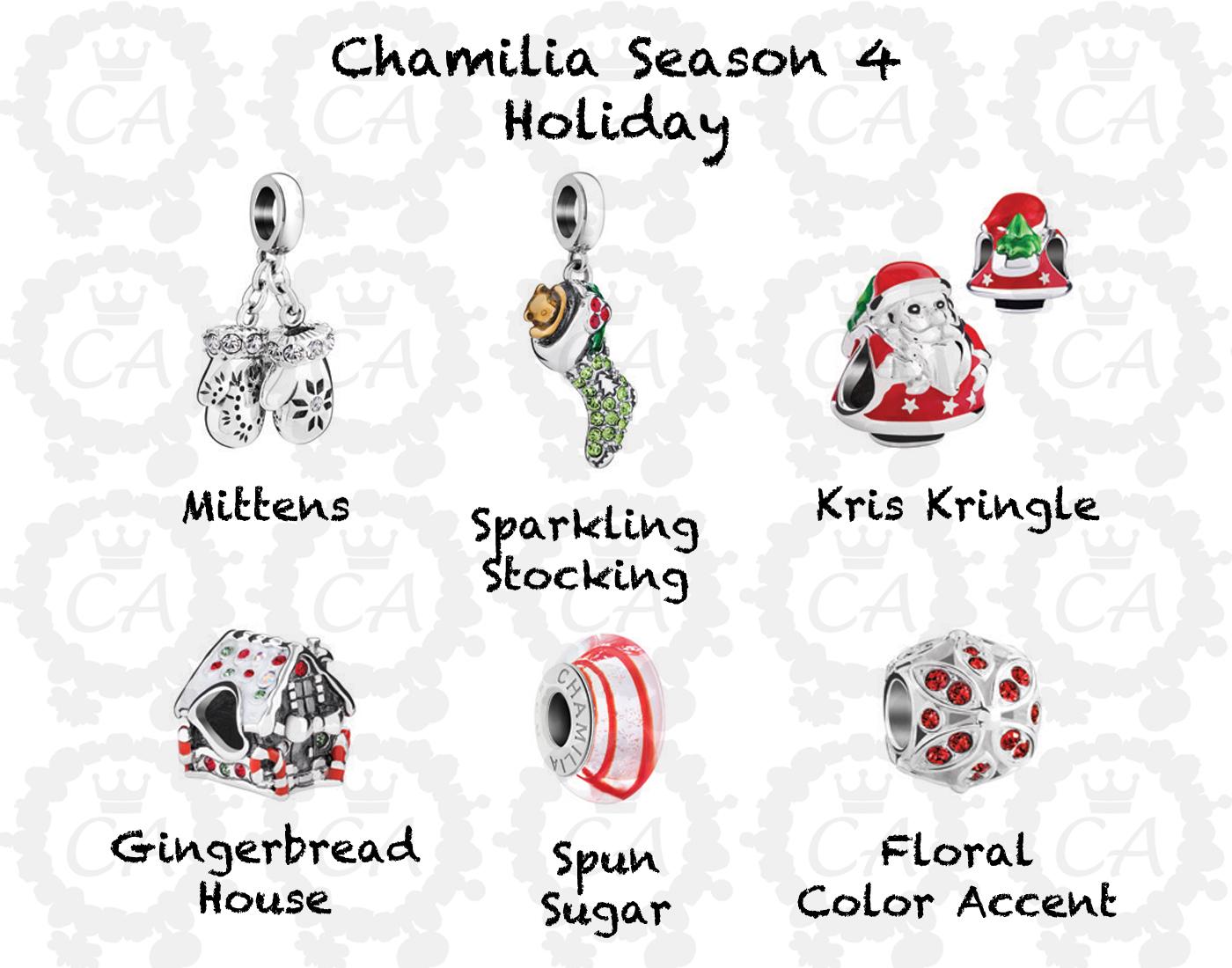 Chamilia Holiday Season 4 Collection Preview