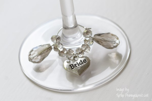wedding glass charms