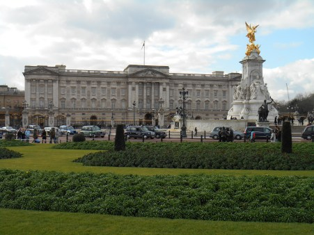 city trip London - buckingham palace