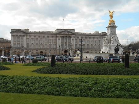 city trip London - buckingham palace