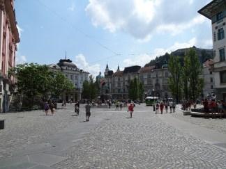 Square Ljubljana Slovenia Photos