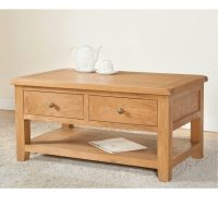 Stockholm - Coffee Table with 2 Drawers - Charnley's Home ...