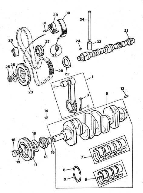 62H210 LEYLAND TIMING CHAIN