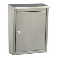 Wall Mount Mailbox - Stainless Steel