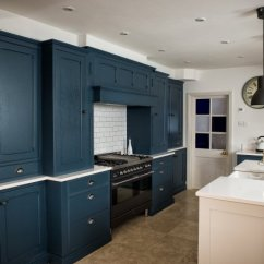 Classic Kitchen Sink Cabinets Jacksonville Fl Farrow & Ball Painted - Charnwood Kitchens