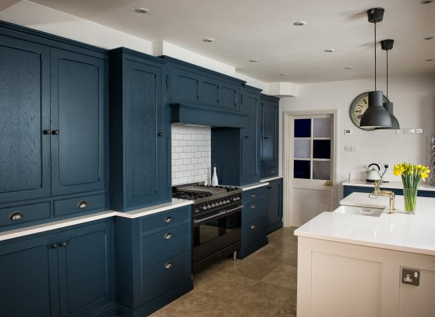 Farrow  Ball Painted  Charnwood Kitchens
