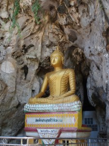 Limestone caves turned temple are a thing