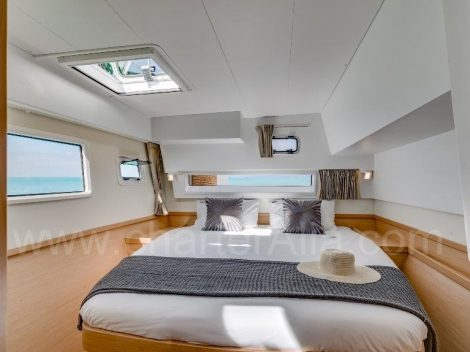 Cabine de Lagoon 42 yacht charter em Ibiza