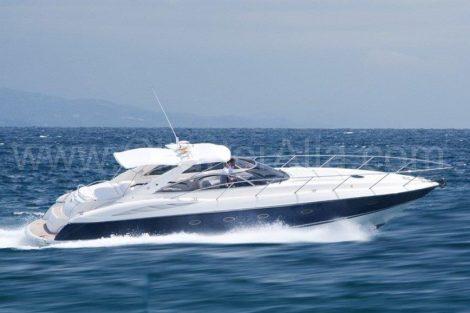 Incrível poder Sunseeker 46 iate para alugar em Ibiza