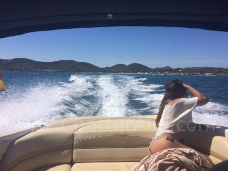 230 Aluguer de barcos Sea Ray nas Ilhas Baleares com skipper
