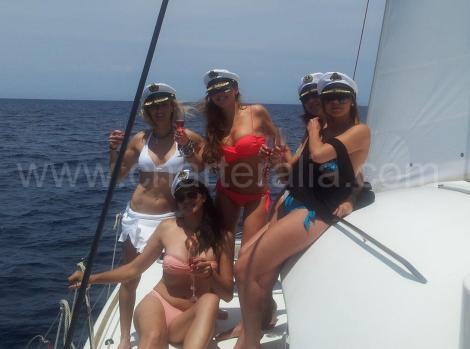 Capitaes Bachelorette fim de semana Ibiza