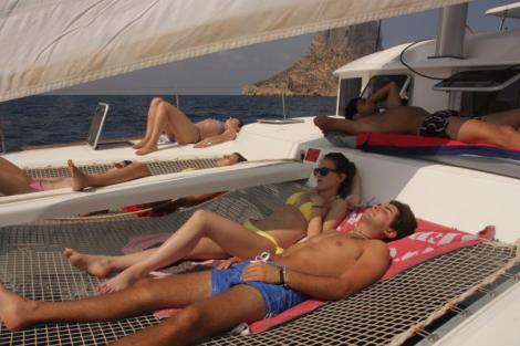 Ferias em catamara em Ibiza e Formentera