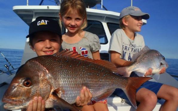 kids fishing narooma