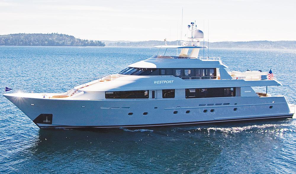 ANTARES Yacht Charter Details Westport Shipyard