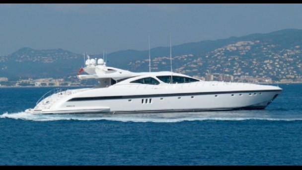 Yacht ASET Overmarine Mangusta Rodriguez Group