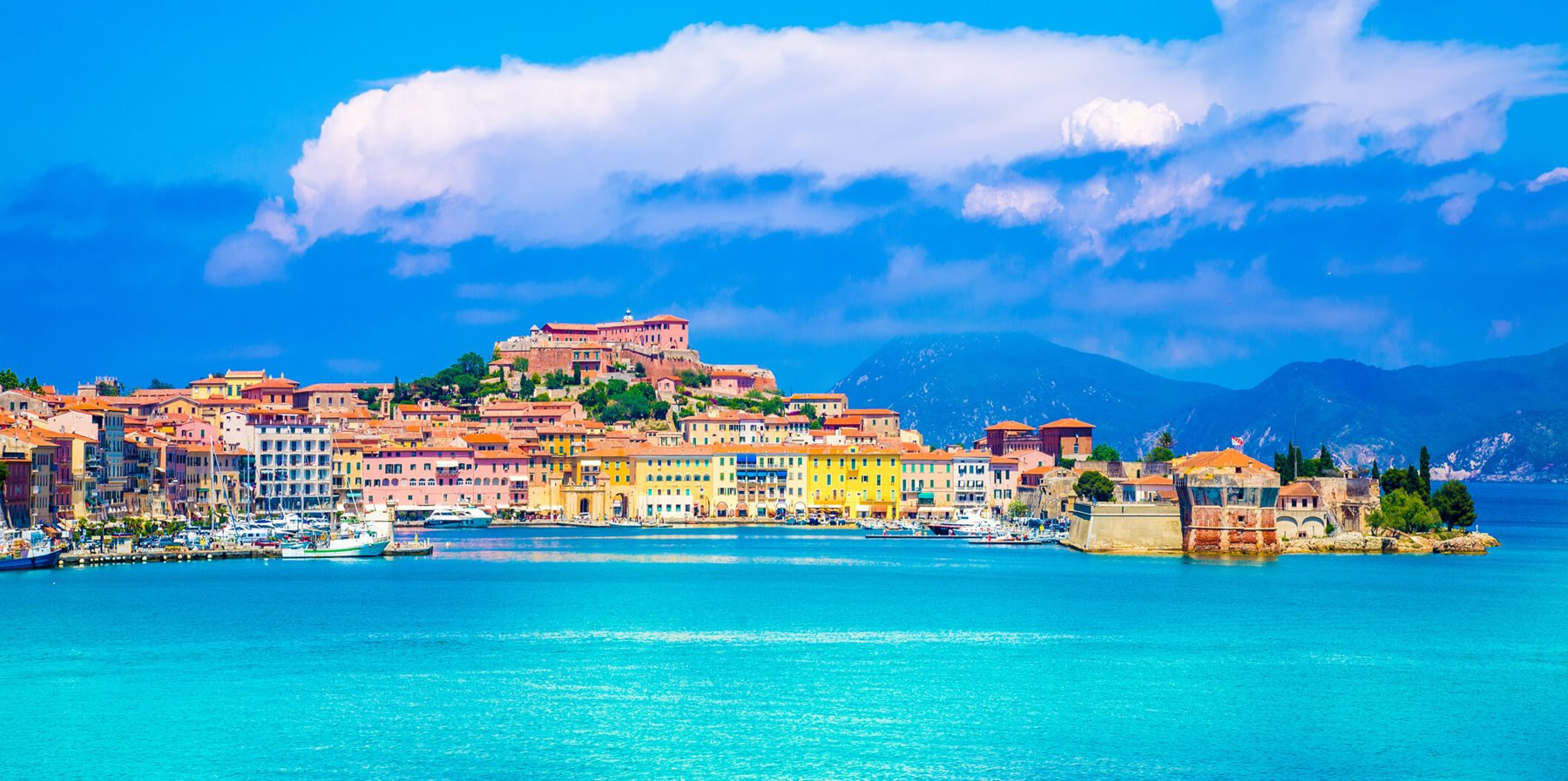 Elba Yacht Charters On Luxury Superyachts In Italy The