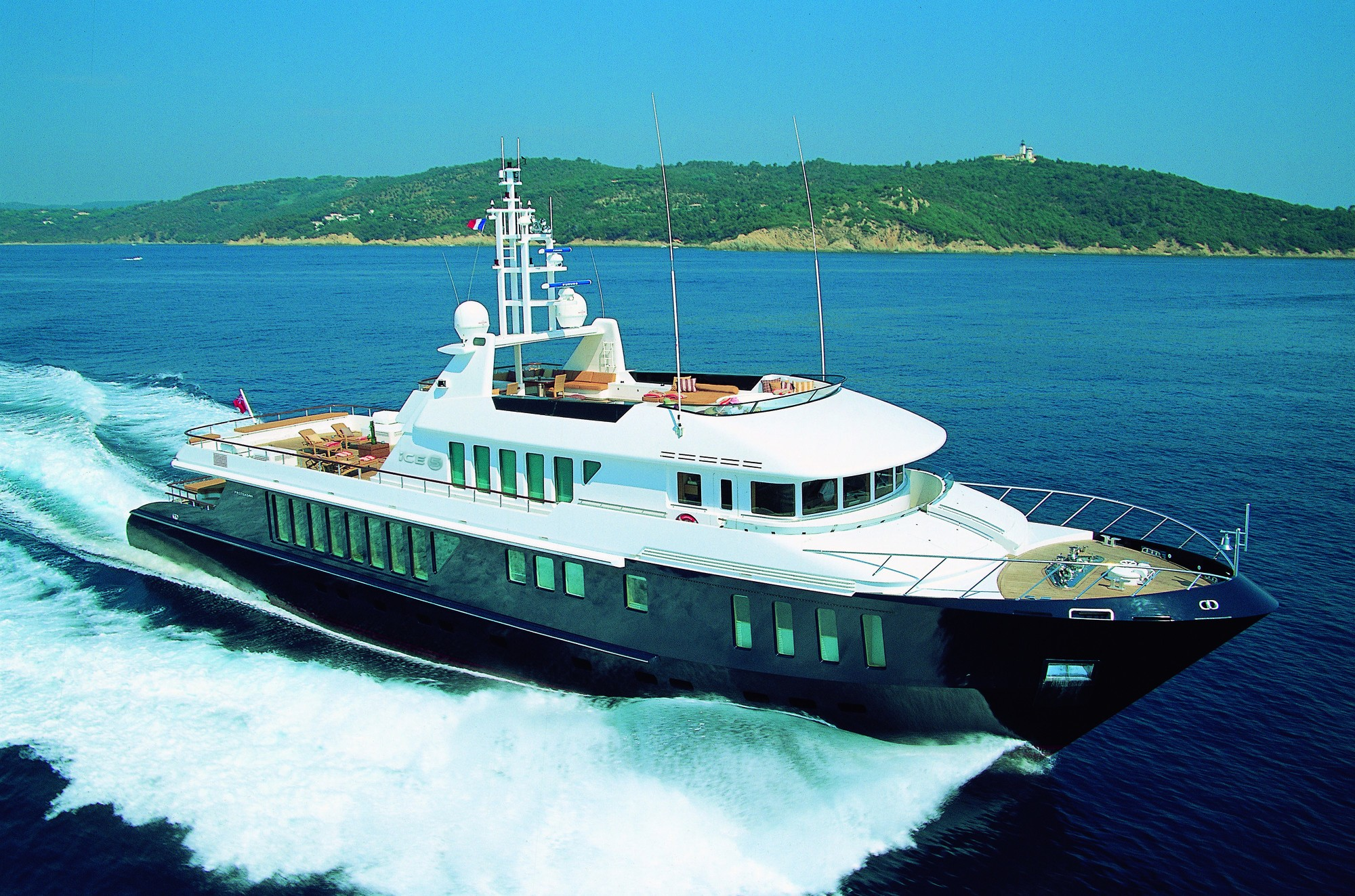 ICE 5 Yacht Charter Details Proteksan Turquoise